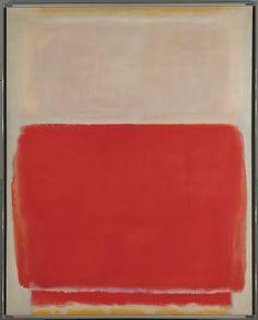 mark rothko; no. 3, 1953. oil on canvas, 172.7 x 137.8 cm. metropolitan museum of art, new york, usa