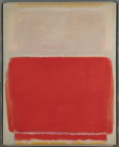 mark rothko; no. 3, 1953. oil on canvas, 172.7 x 137.8 cm. metropolitan museum of art, new york, usa
