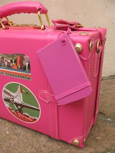 """Moleskine Luggage Tag per bagagli: """"in case of loss, please return to..."""" ...magari non rosa, ma la voglio!!! :D"""