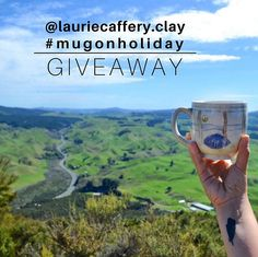 It is time for the #mugonholiday GIVEAWAY! To learn how to win this mug, visit my instagram @ lauriecaffery.clay