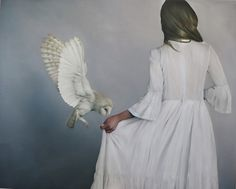 My Owl Barn: Amy Judd's Paintings Inspired by Mythology