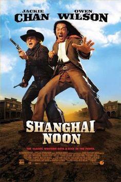 Sangayli Kovboy - Shanghai Knights - 2000 - BRRip Film Afis Movie Poster