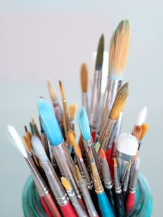 paint brushes