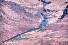 The Colorado River in the Grand Canyon, Arizona