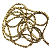 Metal Ring Style Gold Color Chain