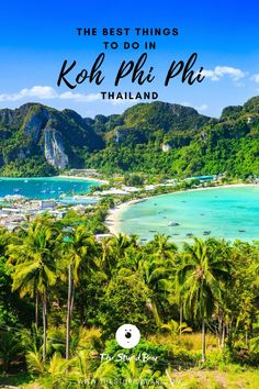 Thailand Vacation, Thailand Travel Guide, Vacation Spots, Vacation Ideas, Thailand Phi Phi Island, Island Tour, Krabi, Koh Tao, Beautiful Places To Visit