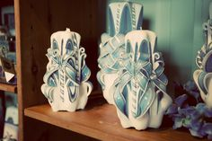 carved candles - Google Search