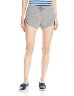 Volcom Juniors Lived In Fleece Short Heather Grey Small -- See this great product.