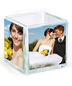 Look at this Square Picture Vase on #zulily today!