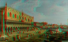 Artistic Place 3D Anaglyph Red Cyan by Fan2Relief3D on DeviantArt