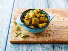 Recette Parampara - Jeera Aloo #recette #recetteindienne #recipe #inde #accompagnement #jeeraaloo #cumin #curry #coriandre #pommedeterre