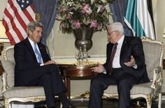 Secretary of State John Kerry and Palestinian President Mahmoud Abbas met for three hours last night to discuss ongoing peace talks. More: http://www.google.com/hostednews/afp/article/ALeqM5jpdJWfpElqPinV6o8Fz8ZGB6CkwA