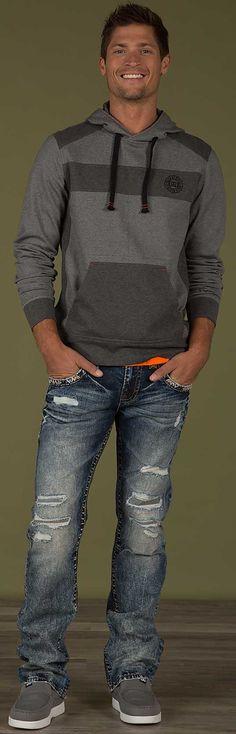Rock Revival Dashaw Straight Jean - Men's Jeans   Buckle