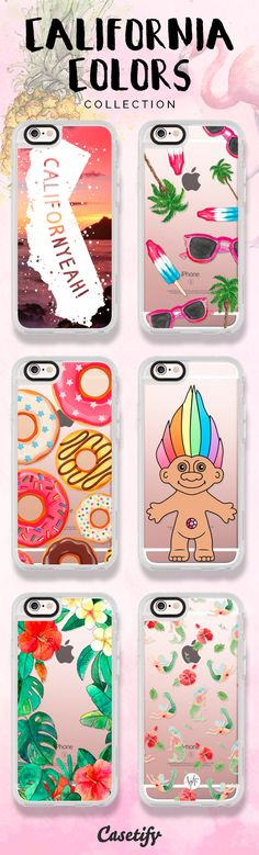 #California love. Tap this link to shop our new #CaliforniaColors collection: https://www.casetify.com/californiacolors# | @casetify