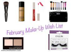 February Make-Up Wish List