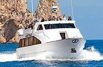 Gita in Barca a Capri, visita della Grotta Azzurra e giro dell'isola
