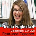 Extensive presentation on using technology in the art room. Lots of resources.  http://live.classroom20.com/1/post/2013/04/tricia-fuglestad-featured-teacher-art-technology.html