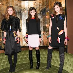 No doubting the coolness of the models wearing our Fall 2014 Collection.