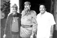 Dizzy Gillespie, Fidel Castro and Arturo Sandoval