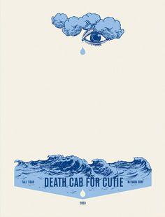 Death cab for cutie poster by Jason Munn