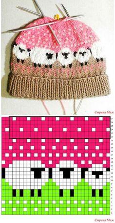 Inspiration Bonnet en tricot.