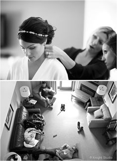 Girls getting ready vs Guys getting ready the morning of the wedding
