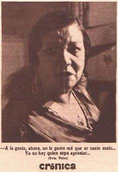 Pastora Pavón, en entrevista concedida a Josefina Carabias (Crónica, 21-7-1935)