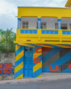 Foto da entrada dOPARQUE, uma plataforma que promove o empreendedorismo criativo em Vitória, um dos projetos de Juliana. Foto: Arquivo pessoal.