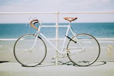 Bike + Seaside. That's what I need!