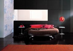 Best Lit Rond Images On Pinterest Bed Bed Room And Bedroom Ideas - Lit rond adulte