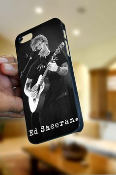 """Ed Sheeran Song iPhone Case Cover """"OPTION PLEASE""""  for iPhone 4/4s or iPhone 5 , Black or White color"""