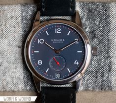 worn&wound   Hands-On with the Nomos Glashutte Limited Edition Club for Timeless - worn&wound