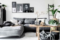 The beautiful home of a Swedish interior stylist