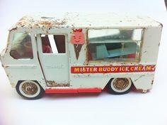 Vintage Mister Buddy Ice Cream Truck~~