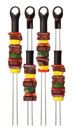 Interesting skewers for the grill