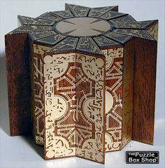 Hellraiser - Lemarchand's Puzzle Box (Fully Functional) | horrorSniped.com | Rare Horror Auctions and Collectibles