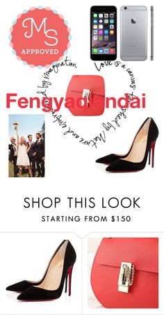 """""""Fengyaqiandai genuine leather bags20151210002"""" by houseofhello on Polyvore featuring Christian Louboutin and Tommy Hilfiger"""