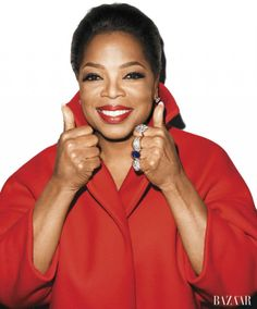 Oprah photographed by Terry Richardson for Harper's Bazaar
