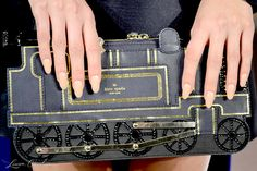 A train clutch from Kate Spade New York