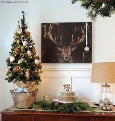 2015 Christmas Dining Room | The Refeathered Roost