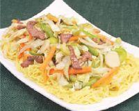 Chow Mein de Carne