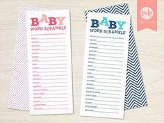 Baby word scrambler