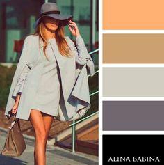 С чем сочетать серый цвет, чтобы было нескучно и ультрамодно.