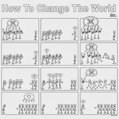 How to Change the World – A Comic Strip