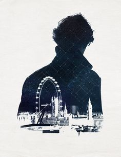 i gotta say, one of the loveliest bits of fan art i've seen in a while. :) #sherlock #london
