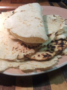 A Gluten Free Flour Revolution | The tortillas were soft and pliable, they tasted slightly nutty, but very mild made from Steve's GF Flour Blend, from Authentic Foods