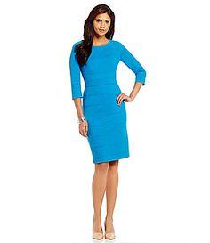 5f87961a6b Antonio Melani Loy Ponte Sheath Dress  Dillards After 5 Dresses