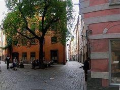 Stockholm, Sweden - sweet Nordic pink