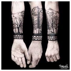 150 Likes, 7 Comments - Petrichor Tattoo YK, Indon. - - 150 Likes, 7 Comments – Petrichor Tattoo YK, Indon… – - Forarm Tattoos, Cool Forearm Tattoos, Leg Tattoos, Arm Band Tattoo, Body Art Tattoos, Tattoos For Guys, Tattoo Wolf, Tatoos, Xoil Tattoos
