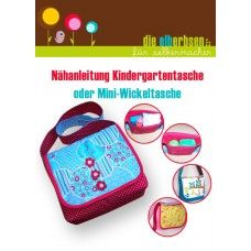 "Ebook - ""Kindergartentasche / Mini-Wickeltasche"""